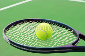Fototapety Tennis racket with ball