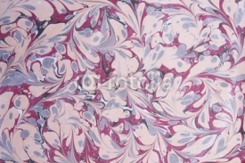 Obrazy i plakaty Turkish traditional marbled paper artwork background
