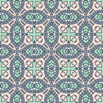 Obrazy i plakaty Seamless colorful retro pattern background
