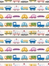 Fototapety seamless car pattern