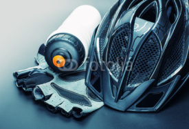 Fototapety Bicycle accessories