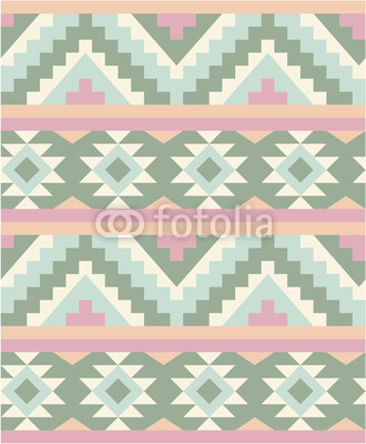 Seamless pattern in navajo style 2