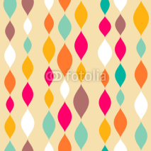 Obrazy i plakaty Retro style abstract seamless pattern