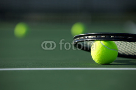 Fototapety Tennis Ball and Racket