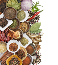Naklejki Spices And Herbs