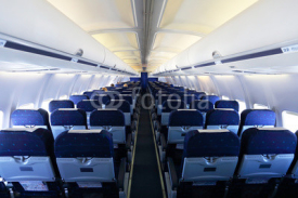Fototapety Aircraft interior