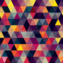 Fototapety seamless triangle background