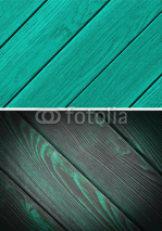 Obrazy i plakaty Wood texture. Lining boards wall. Wooden background. pattern. Showing growth rings. set