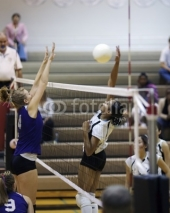 Fototapety volleyball spike