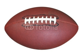 Fototapety American football isolated clipping path