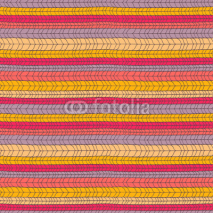 Obrazy i plakaty Seamless colorful knitted texture. Vector illustration