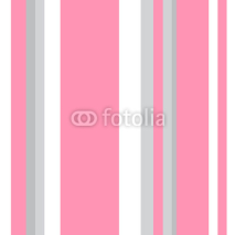 Naklejki Striped pattern with stylish colors. Pink and grey stripes. Background for design in a vertical strip