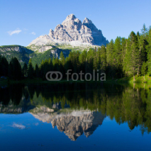 Naklejki Dolomite Mountains, Unesco natural world heritage in Italy
