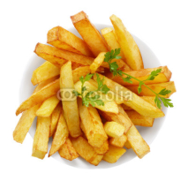 Naklejki French fries