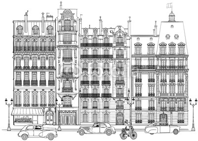 Paris - Facades