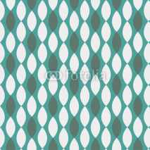 Obrazy i plakaty Seamless geometric pattern with diamond shapes in retro style.