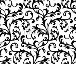 Obrazy i plakaty Vector. Seamless Classicism Wallpaper