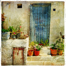 Fototapety greek streets, artistic picture
