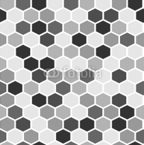 Fototapety The simple seamless hexagon background