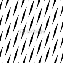 Obrazy i plakaty Abstract geometric monochrome, minimal artistic pattern. Seamles
