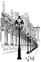Fototapety Paris: Classical architecture