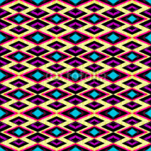 Fototapety pink and purple polygons on a light background seamless geometric pattern
