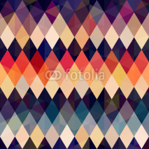 Fototapety seamless retro diamond background