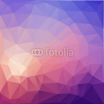 Fototapety Illustration of colored  poligonal abstract background.