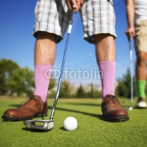 Fototapety Men playing golf