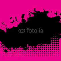 Fototapety Grunge ink splat background