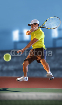 Fototapety Tennis P;ayer in Action