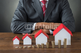 Fototapety Real Estate Growth Concept