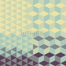 abstract retro geometric pattern