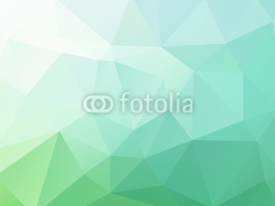 Naklejki Abstract blue green vector background