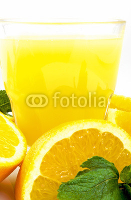 Naklejki Orange juice
